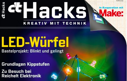 c't Hacks  – Die Maker-Zeitung