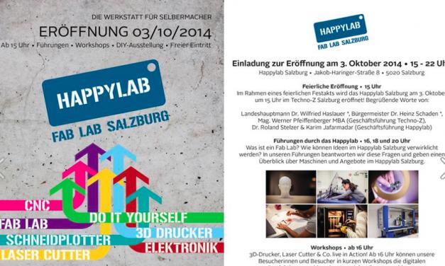 3.10. Happy Lab Salzburg eröffnet