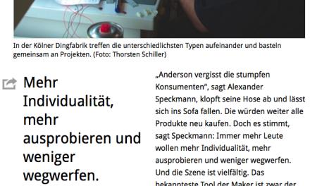 So wächst die Maker-Szene in Deutschland