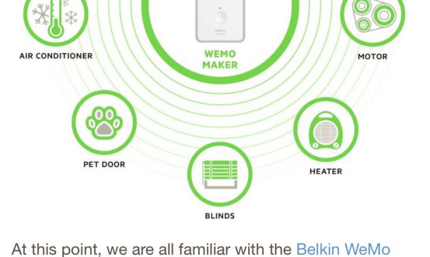 WeMo Maker vorgestellt