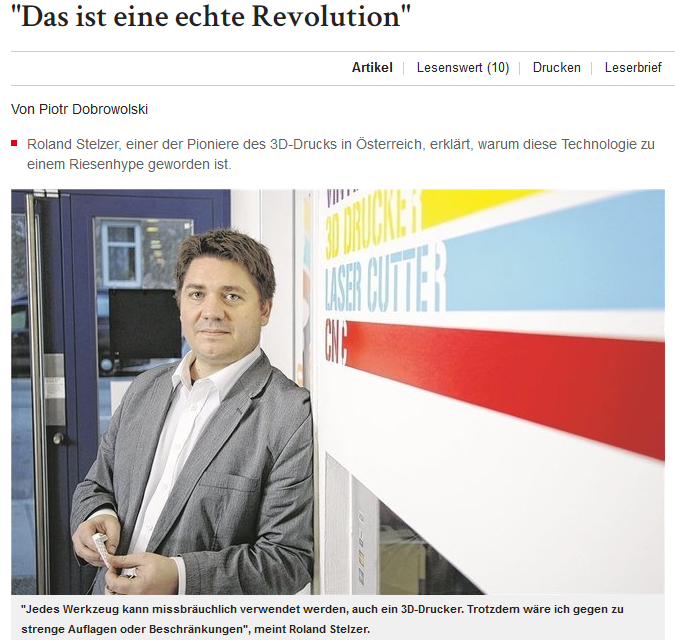 Eine echte Revolution