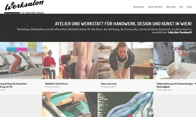 Atelier und Werkstatt für Handwerk, Design und Kunst