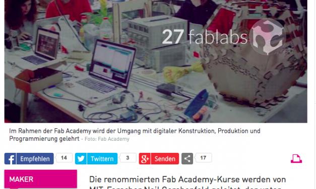 Happylab bringt Fab Academy nach Österreich