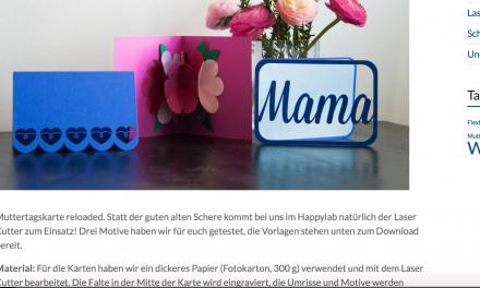 Tutorial: Muttertagskarten
