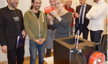 Erstes regionales 3D-Druck-Labor für Schulen und Kreative in Oberösterreich