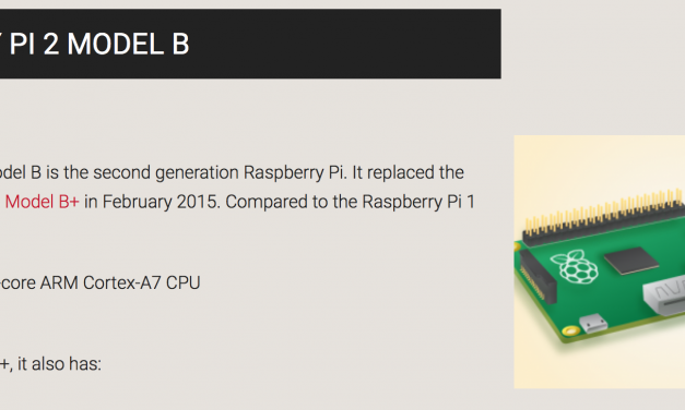 Raspberry Pi 2 Test