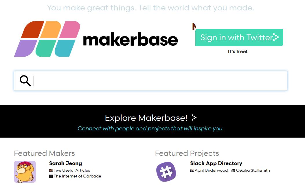 Makerbase: Netzwerk für Maker und digitale Projekte