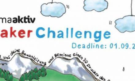 Mach mit bei der Klima Maker Challenge!