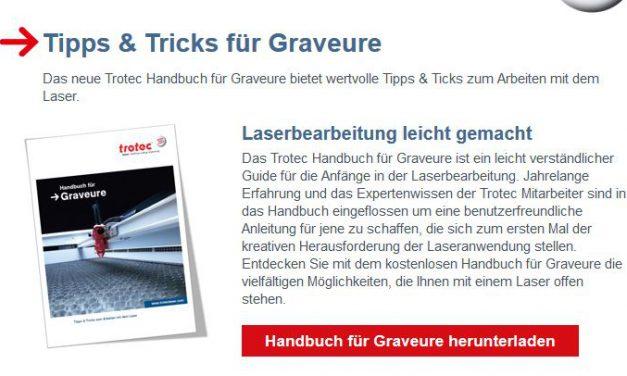 Praktisches Handbuch mit Tipps & Tricks rund ums Laser Cutten