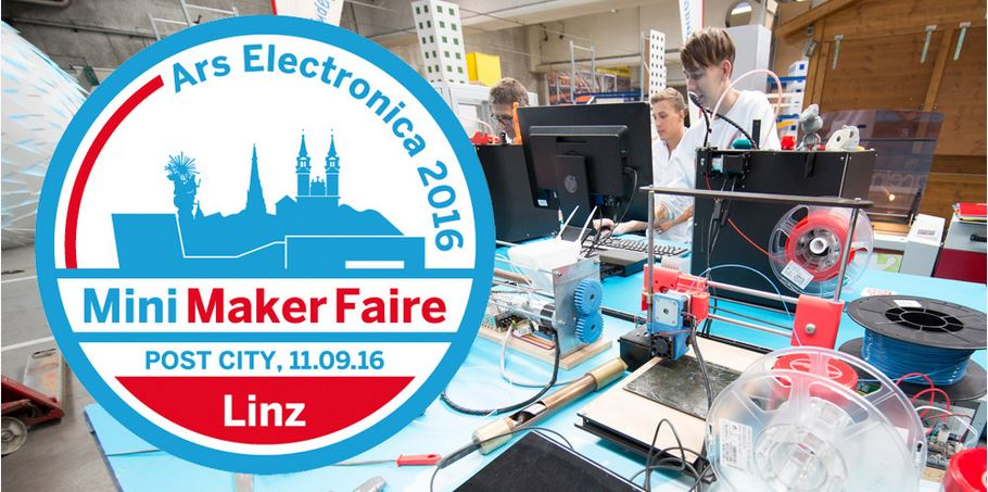 11.9.16 Mini Maker Faire Linz